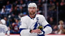 Lightning rule out Stamkos for rest of Stanley Cup Finals
