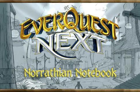 Norrathian Notebook: EQ Next's 'workshop collaborations'