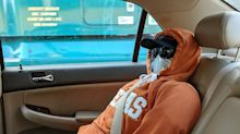 Police catch man driving in carpool lane with homemade dummy strapped into backseat