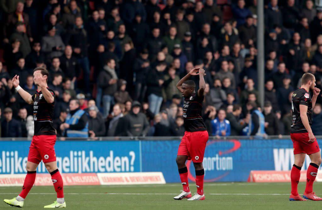 Dutch FA investigates racist chants at match