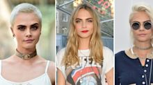 Cara Delevingne's New Brunette Pixie Crop Is Giving Us Serious Mia Farrow Vibes