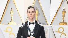 Adam Rippon wears harness with his suit at the Oscars — and the internet has feelings