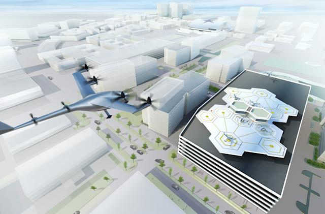 Uber wants to test its flying taxis by 2020