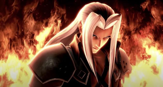 Sephiroth in SSBU