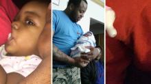 Padre sorprendió a todos con este truco para 'amamantar' a su hija
