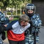 For Russia's detained protesters, rights group is first on scene