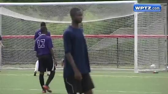 U-16 soccer teams square off in Plattsburgh