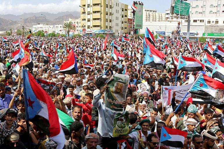 Aden residents said that while they were happy with separatist leadership, their main concern is whether basic services will be provided (AFP Photo/Nabil HASAN)