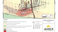 Amex Reports New Near Surface Large Intervals of Gold Mineralization of up to 1.62 g/t Au over 51.30 meters from Denise Zone at Perron