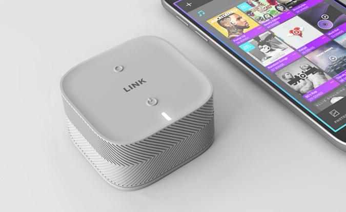 'Link' packs a 2TB SSD and LTE hotspot into a 2-inch cube