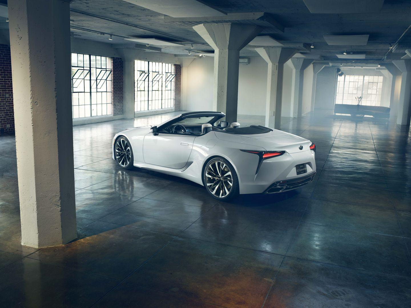 """<p>Even though the convertible's rear deck appears much longer than the coupe's stubby piece, the style works and is much better negotiated than the rear on its would-be competitor, <a href=""""https://www.caranddriver.com/mercedes-benz/sl-class"""" rel=""""nofollow noopener"""" target=""""_blank"""" data-ylk=""""slk:the Mercedes-Benz SL-class"""" class=""""link rapid-noclick-resp"""">the Mercedes-Benz SL-class</a>.</p>"""