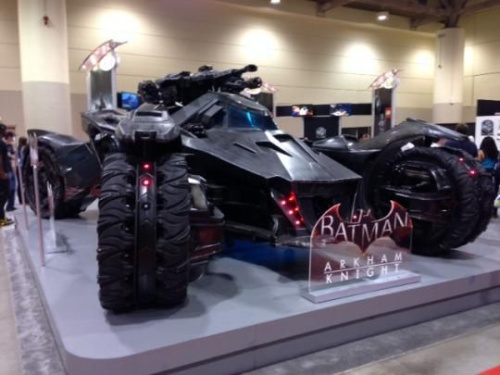 'Arkham: Knight' Batmobile