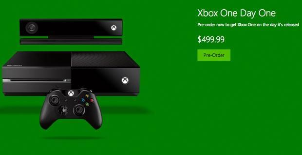 Xbox One now available for pre-order through multiple retail outlets