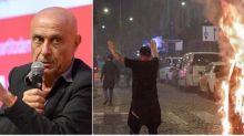 """Minniti: """"A Napoli c'è stato un attacco eversivo"""""""