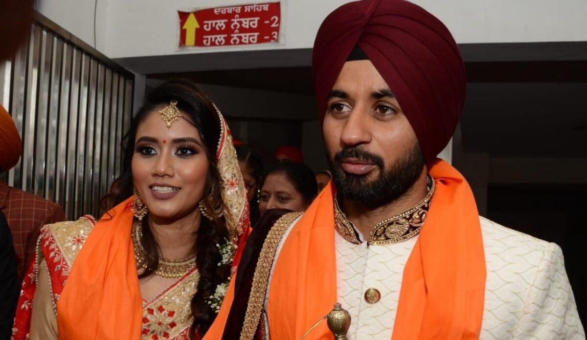 Indian Hockey Captain Manpreet Singh Gets Married To His Long Time Girlfriend Illi Siddique In Jalandhar