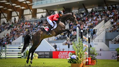 Yes, you can bet on that: Three riders have odds better than +1000 in show jumping