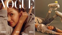 Gisele Bündchen makes history with a makeup-free Vogue Italia cover