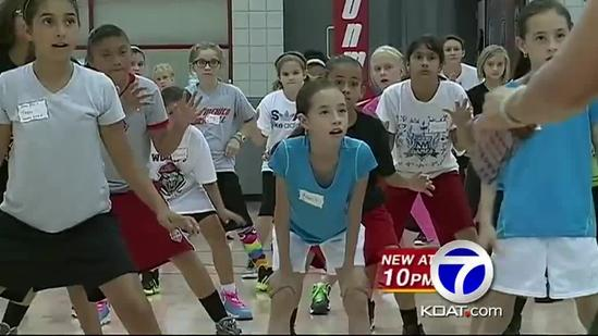 UNM basketball camp promotes reading