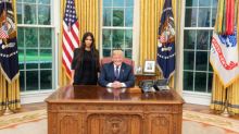 Here are the internet's best reactions to President Trump's meeting with Kim Kardashian