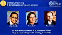 Nobel de Economía 2019 para el equipo que desarrolló enfoques experimentales contra la pobreza