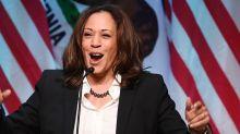"""""""On l'a fait !"""" : l'émotion de la vice-présidente Kamala Harris après la victoire de Biden"""