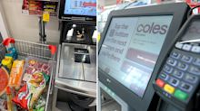 Coles customer stunned by 'next level' checkout hack