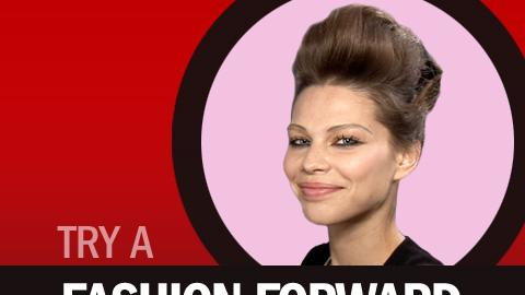Try a Fashion-Forward Pompadour