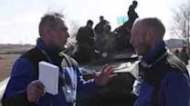 OSCE Monitors Withdrawal of Heavy Weapons in East Ukraine