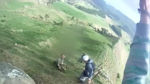 Sheep Rescue Goes Wrong In New Zealand