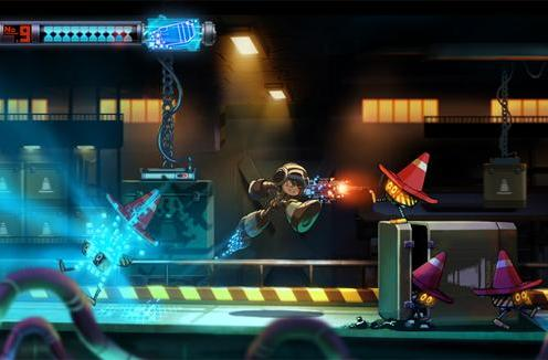 Inafune: Mighty No. 9 looks like Mega Man due to my art style