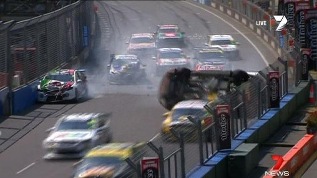 Spectacular crashes at GC600