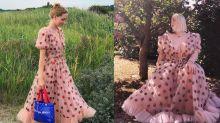 Morangos por todo lado: vestido de mais de R$2 mil vira febre no TikTok