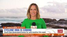 Cyclone Oma set to hit this week