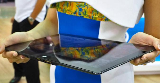 Intel's Windows 8.1 Pro Broadwell tablet is thinner than the iPad Air