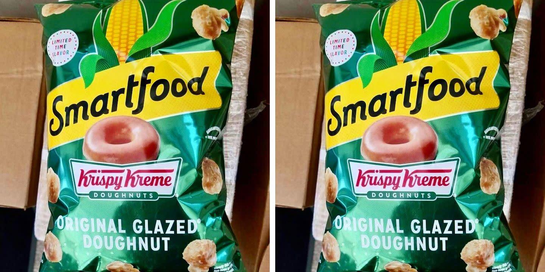 Smartfood x Krispy Kreme