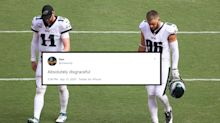 Eagles fans are roasting their own team after Week 1 loss to Washington
