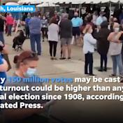 More than 82 million people have already voted. Here's how that compares with past elections.