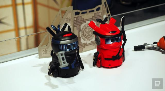 Spin Master's new NinjaBots are cute little killers (updated)