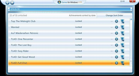 Lost and Damned Achievements spotted on GTAIV PC