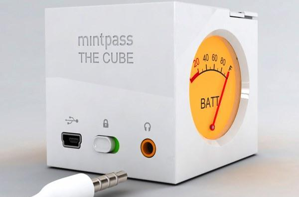 Mintpass Cube MP3 player features plenty of style, few capabilities