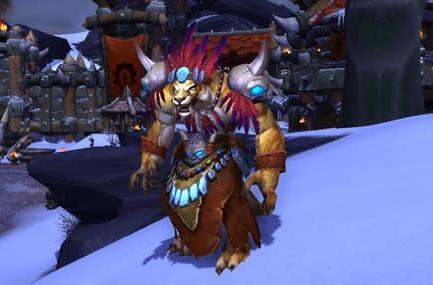 Recruit Leorajh the Saberon as a Garrison Bodyguard