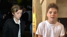 13-year-old Cruz Beckham compared to 'young Justin Bieber' in Instagram music video