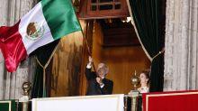 México celebra el ritual de Independencia con un ambiente empañado por la pandemia