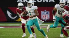 Tua, Dolphins reach midseason riding 4-game winning streak