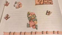 Una versión dibujada en papel de Mario Bros conquista las redes