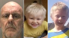 Robert Brown: Disqualified driver, 53, who killed young brothers in hit-and-run at twice the speed limit is jailed