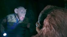 'War for the Planet of the Apes': Steve Zahn's 'Bad Ape' Isn't Ready to Step Up in New Advance Clip