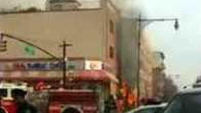 Dramatic Scenes Following NYC Explosion