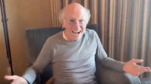 Larry David urges people to stay home in PSA: 'Nothing good ever happens going out of the house'