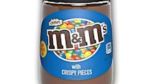 You Can Get Crispy M&M's Spread on Amazon, So Enjoy the Crunchy Candy Pieces on Anything!